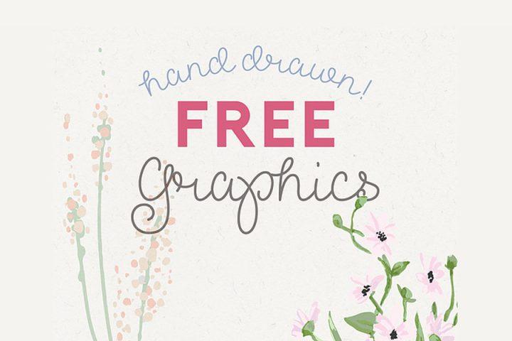 Free Handdrawn Decorative Vector