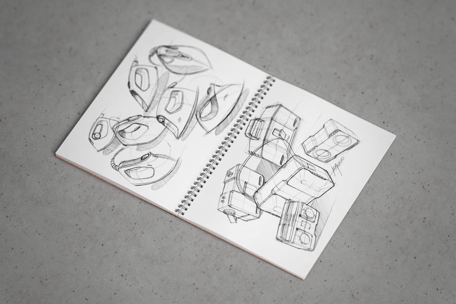 Free Sketchbook PSD Mockup U2014 Free Design Resources