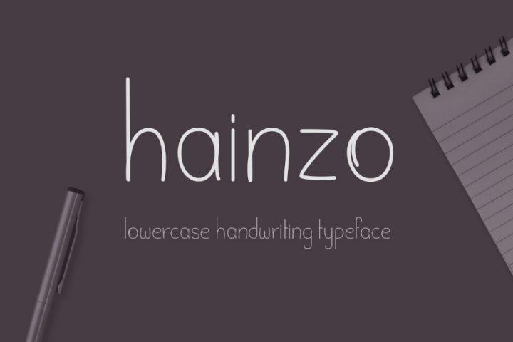 Hainzo Handwriting Free Font
