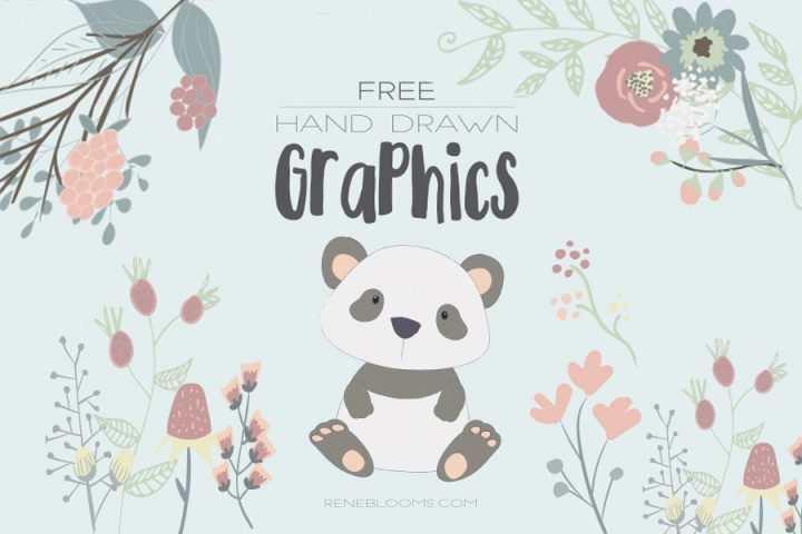 Lovely Handdrawn Free Vector Graphics