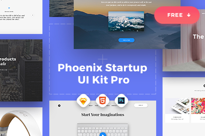 Image Result For Phoenix Startup Psd Templates