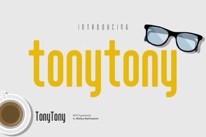 Tony Tony Font Free Demo