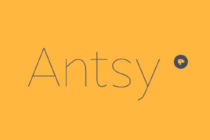 Antsy Light Free Typeface