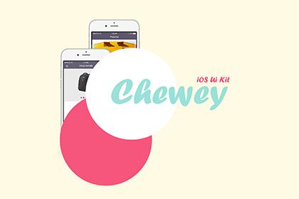 Chewey iOS UI Kit Free Sample