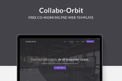 Collabo Orbit Free PSD Template