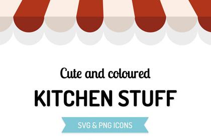 Free Kitchen Stuff Vector Icons