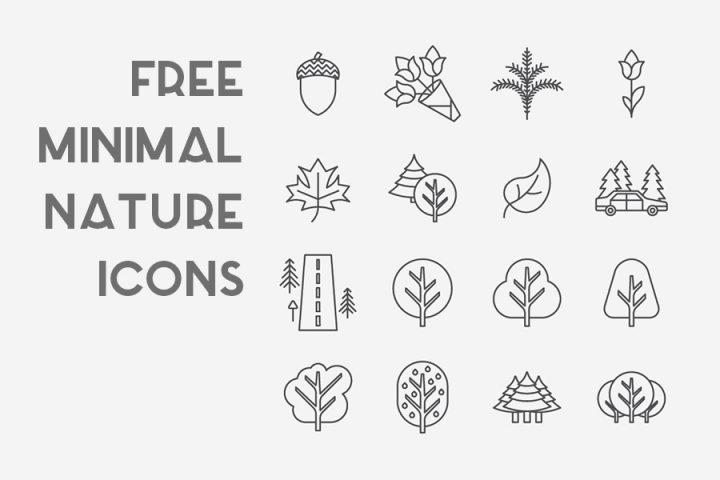 Free Minimal Nature Icons