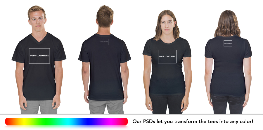 Free Photorealistic TShirt Template  Free Design Resources