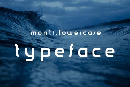 Monti Minimal Free Typeface