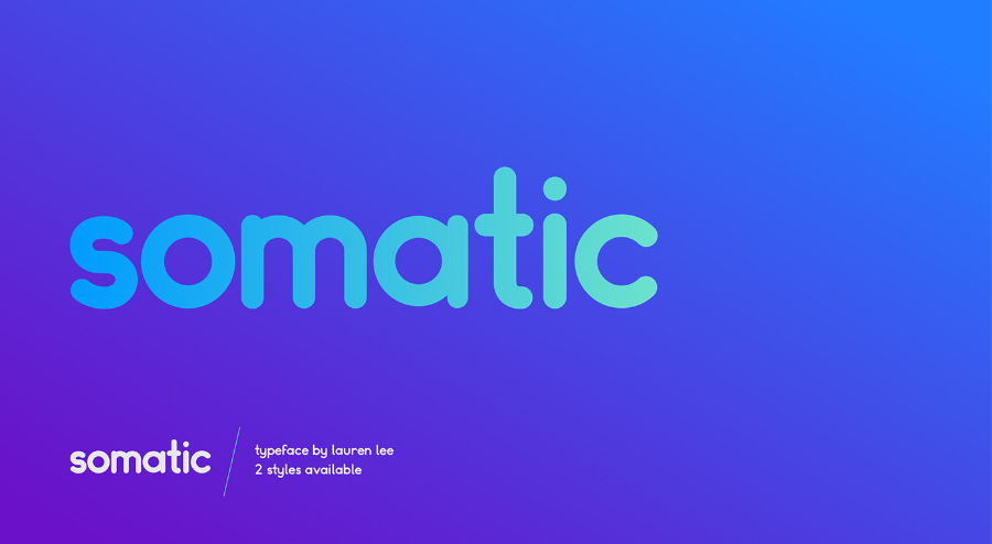 Somatic Typeface Free Demo