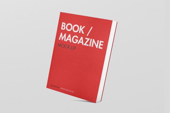 Book Magazine Mockup
