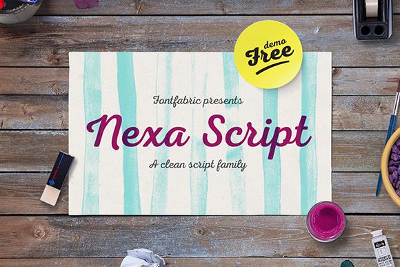 Nexa Script Regular
