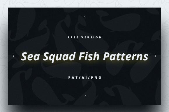 Sea Squad Fish Pattern Free