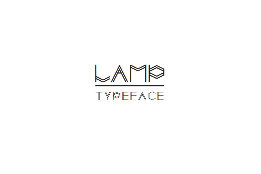 Lamp Free Display Typeface