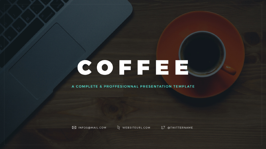 Coffee free keynote template free design resources coffee free keynote template coffee free keynote template pronofoot35fo Images