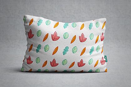 Long Pillow Free PSD Mockup
