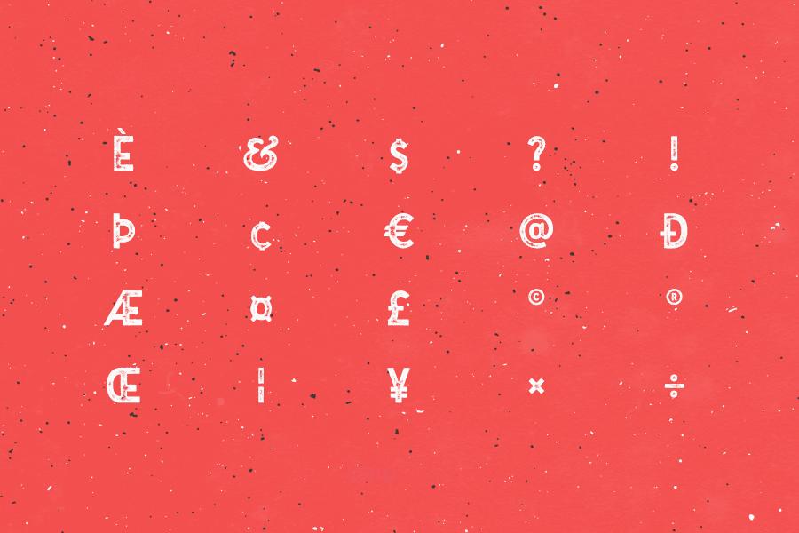 Gutenberg Typeface Free Demo
