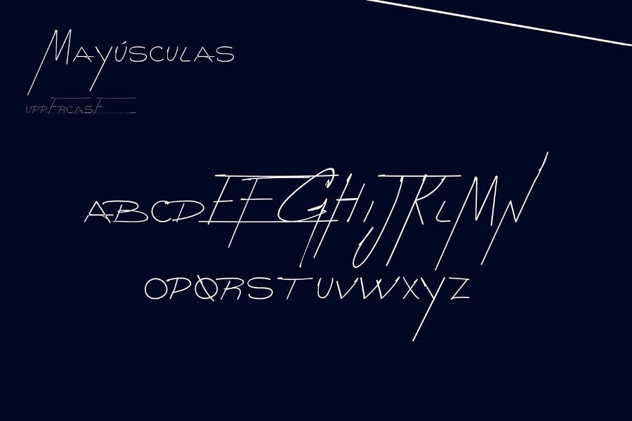 Goodnight Free Handwriting Font
