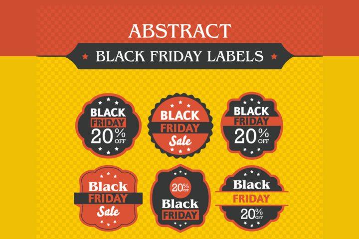 Free Black Friday Labels Designs