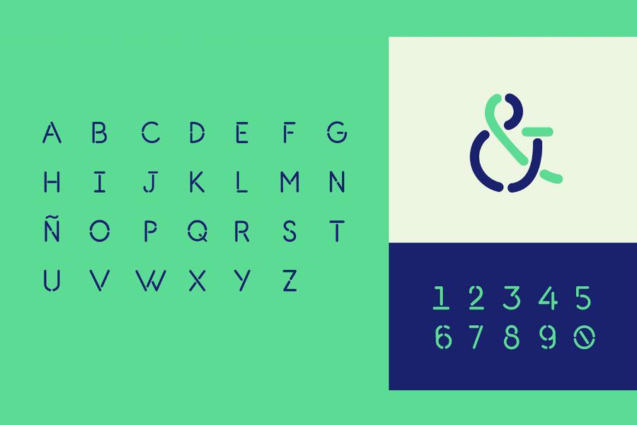 L7 Stencil Free Typeface