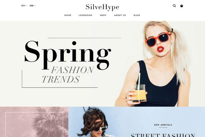 SilveHype Free Fashion Sketch Template