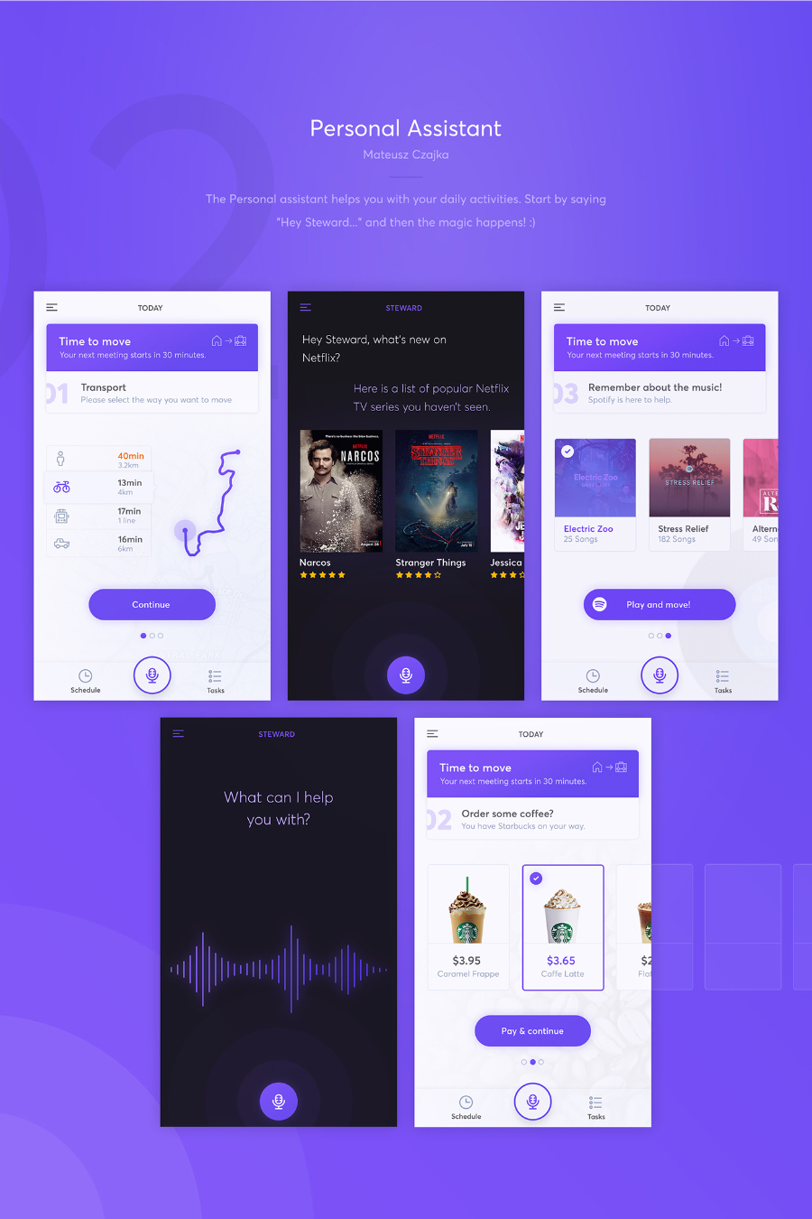 Netguru Mobile Apps Free UI Kit