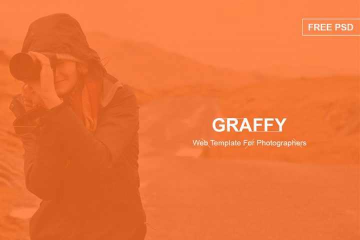 Graffy Free PSD Template
