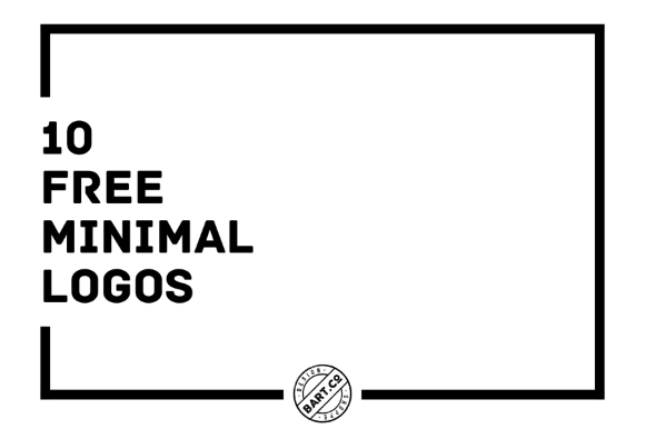 10 Free Minimal Vector Logo