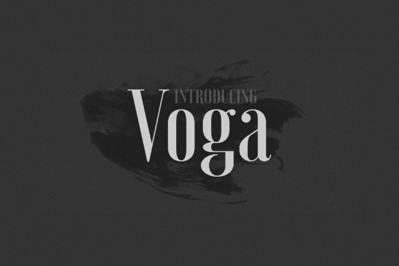 Voga Font Family Free Demo