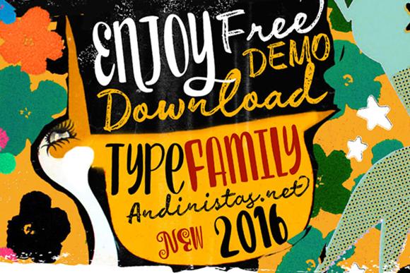 Enjoy Typeface Free Demo