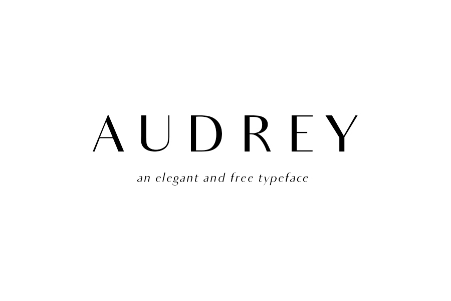 Audrey Family Free Typeface