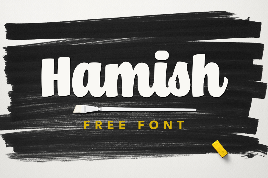 Hamish Script Free Typeface
