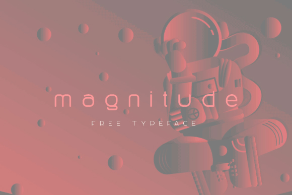 Magnitude Display Free Typeface