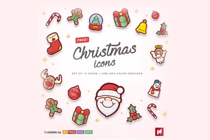 Free Cute Christmas Icons