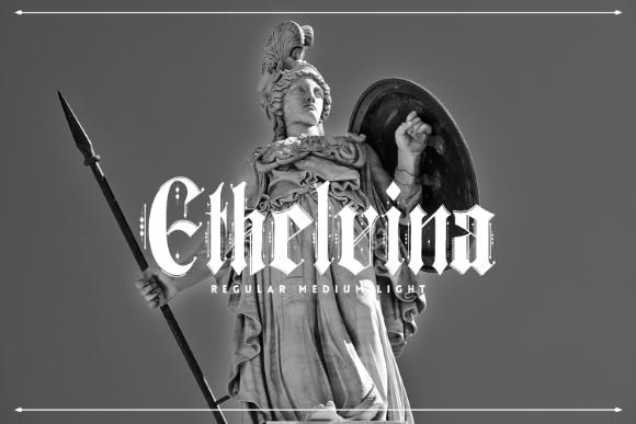 Ethelvina Gothic Free Typeface
