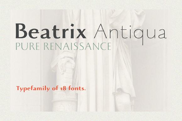 Beatrix Antiqua Free Demo