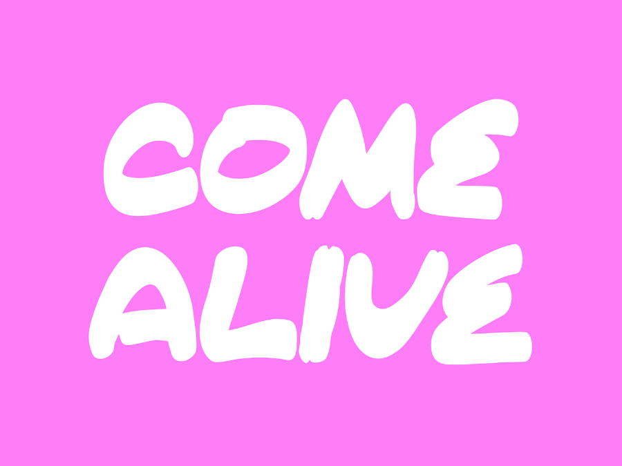 Come Alive Free Typeface