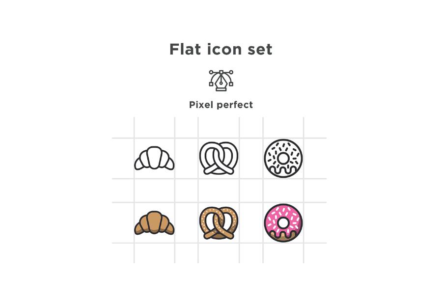 Free minimal bakery vector icons free design resources free minimal bakery vector icons pronofoot35fo Choice Image