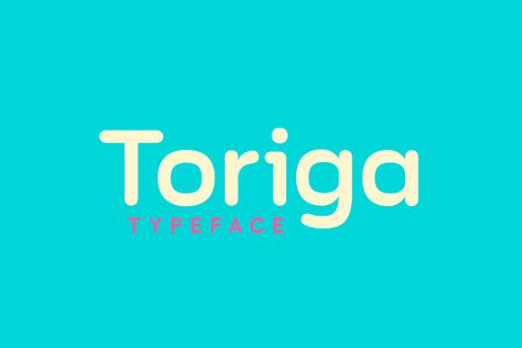 Toriga Typeface Free Demo