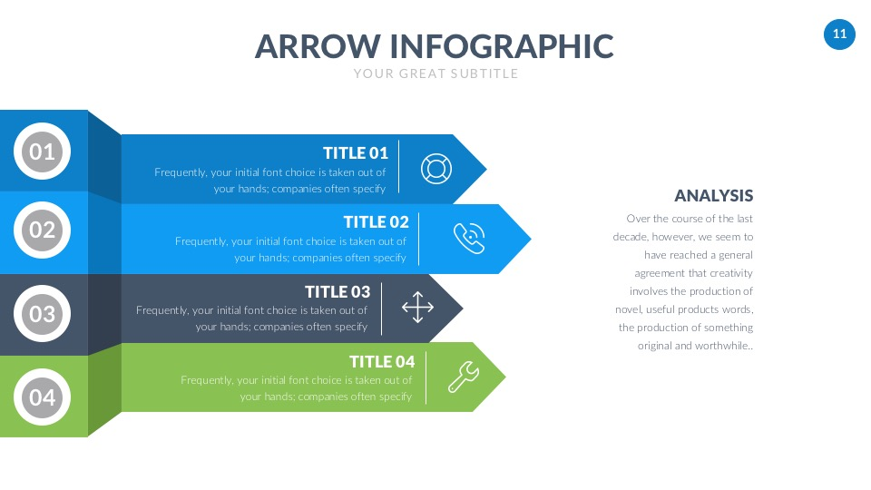 free business powerpoint template � free design resources