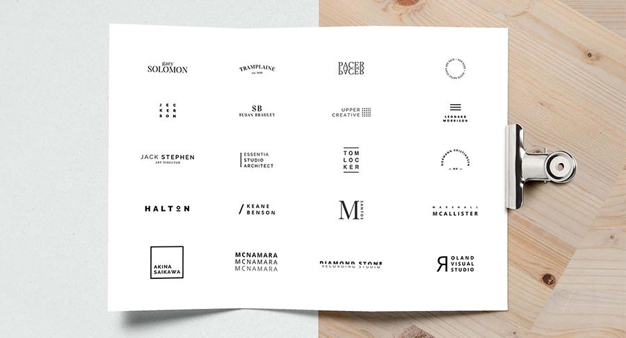 Minimalista Free 2017 Logo Pack