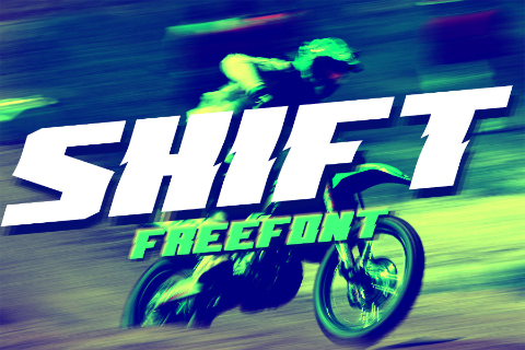 Shift Display Typeface Free Demo