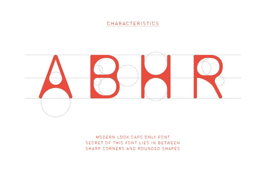 Entra Display Free Typeface