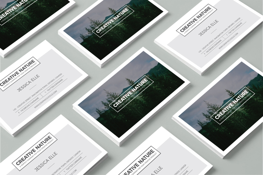 Free Creative Artist Business Card — Free Design Resources