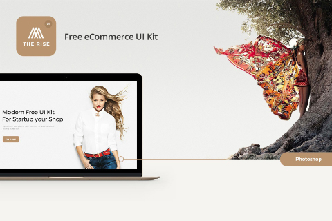 Rise eCommerce Free UI Kit