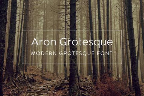 Aron Grotesk Free Typeface