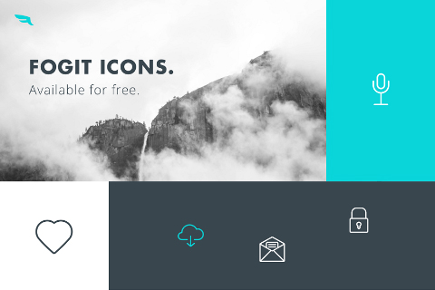 Fogit Free Vector Icon Set