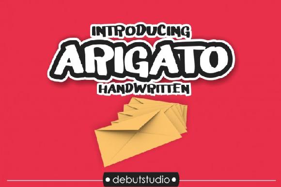 Arigato Free Display Font