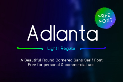 Adlanta Sans Free Typeface