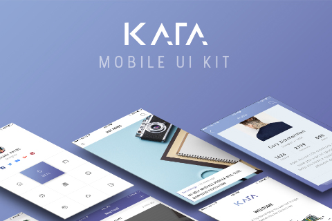 Kata Mobile UI Kit Free Demo